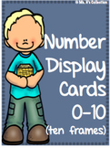 Class Display Numbers 0-10 using Ten Frames