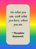 Class Display Positive/Inspirational Quotes