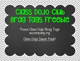 Class Dojo 100-1000 Point Club & Leader of the Week Brag Tags Freebie