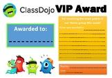 Class Dojo Award
