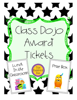 Class Dojo Reward Tickets