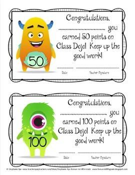 Class Dojo Behavior Management Set