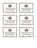 Class Dojo Behavior Punch Card