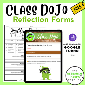 Class Dojo Behavior Tracker