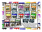 Class Dojo Belts Brag Tags! Colorfu,l fun, and easy incentive