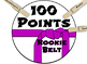 Class Dojo Belts clothes pin chart! Colorful fun, and easy