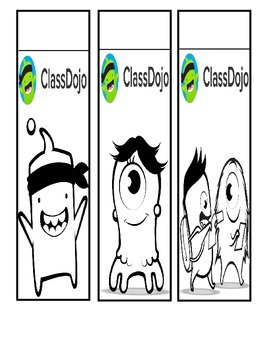 Class Dojo Bookmarks