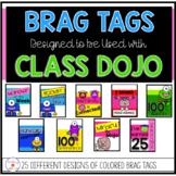 Class Dojo Celebration Tags: Classroom Management Incentive