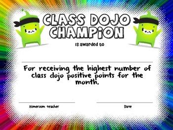 Class Dojo Champion