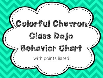 Class Dojo Behavior Chart