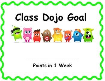Class Dojo Class Goal