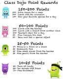 Class Dojo Class Incentives