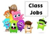 Class Dojo Class Job Sign