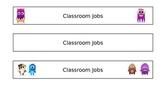 Class Dojo Classroom Jobs