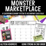 Monster Marketplace - Classroom Economy System - Class Dojo