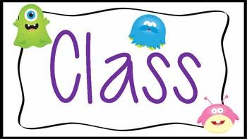 Class Dojo Classroom Pack!