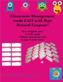 Class Dojo Coupons Monster Theme + Editables