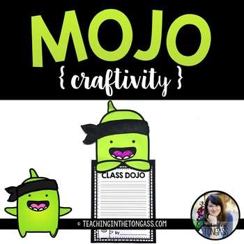 Class Dojo Craft Free (Mojo Craftivity)