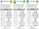 Class Dojo Daily Behavior Charts