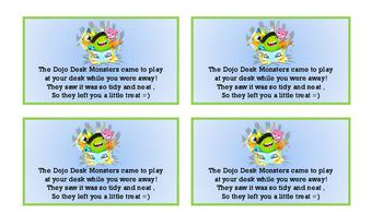 Class Dojo Desk Monster Coupons
