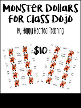 ClassDojo Dollars-$10
