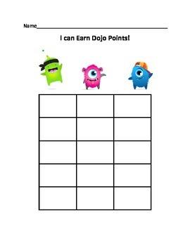 Class Dojo Graphing Sheet (75 Points)