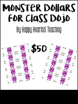 ClassDojo Dollars-$50