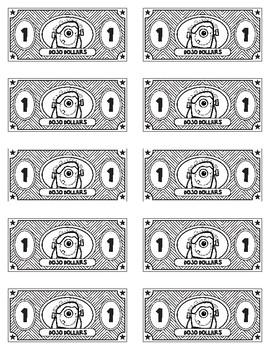 Class Dojo Dollars Freebie