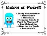 Class Dojo Earn a Point Door List