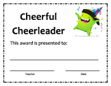 Class Dojo End of Year Awards