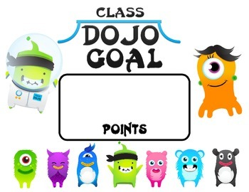 Class Dojo Goals Posters