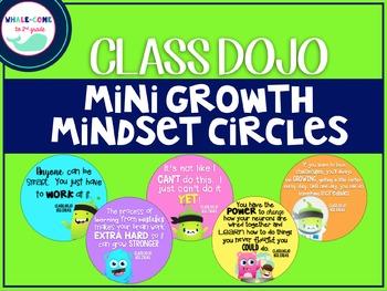Class Dojo Growth Mindset Circles