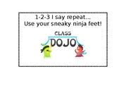 Class Dojo Hallway Chant