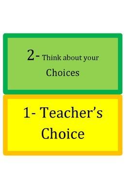 Class Dojo IB Behavior Chart