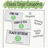Class Dojo Incentive Coupons