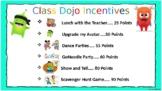 Class Dojo Incentives