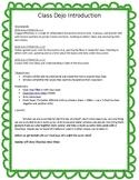 Class Dojo Introduction Lesson Plan
