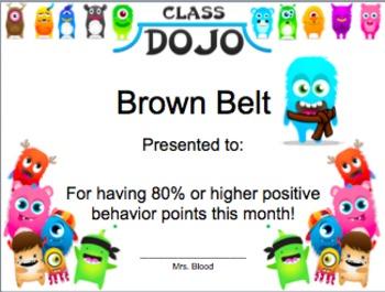 Class Dojo Karate Bundle