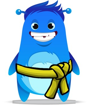 Class Dojo Karate Monster Avatars