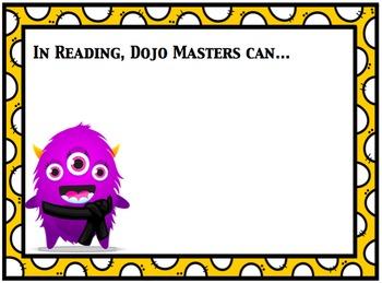 """Class Dojo Karate Objective/""""I Can"""" Board"""