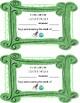 Class Dojo Letter to Parents, Certificate, and Dojo Dollars