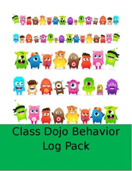 ClassDojo Log Pack (Home to School and School to Home)