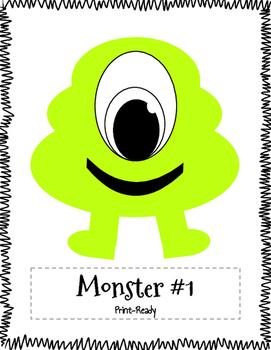 Class Dojo Monster Cut-Outs