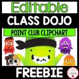 Class Dojo Point Club Clipchart