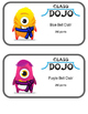 Class Dojo Point Club signs