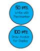 Class Dojo Point Rewards in color