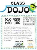 Class Dojo Points Punch Card