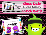 Class Dojo Positive Points Punch Cards {EDITABLE FREEBIE}