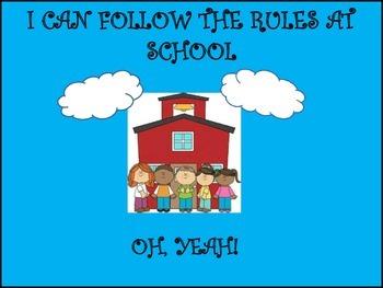 Class Dojo PreSchool Rules Guide and Visuals