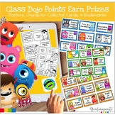 Class Dojo Prize Points, Posters, and Booklet Freebie